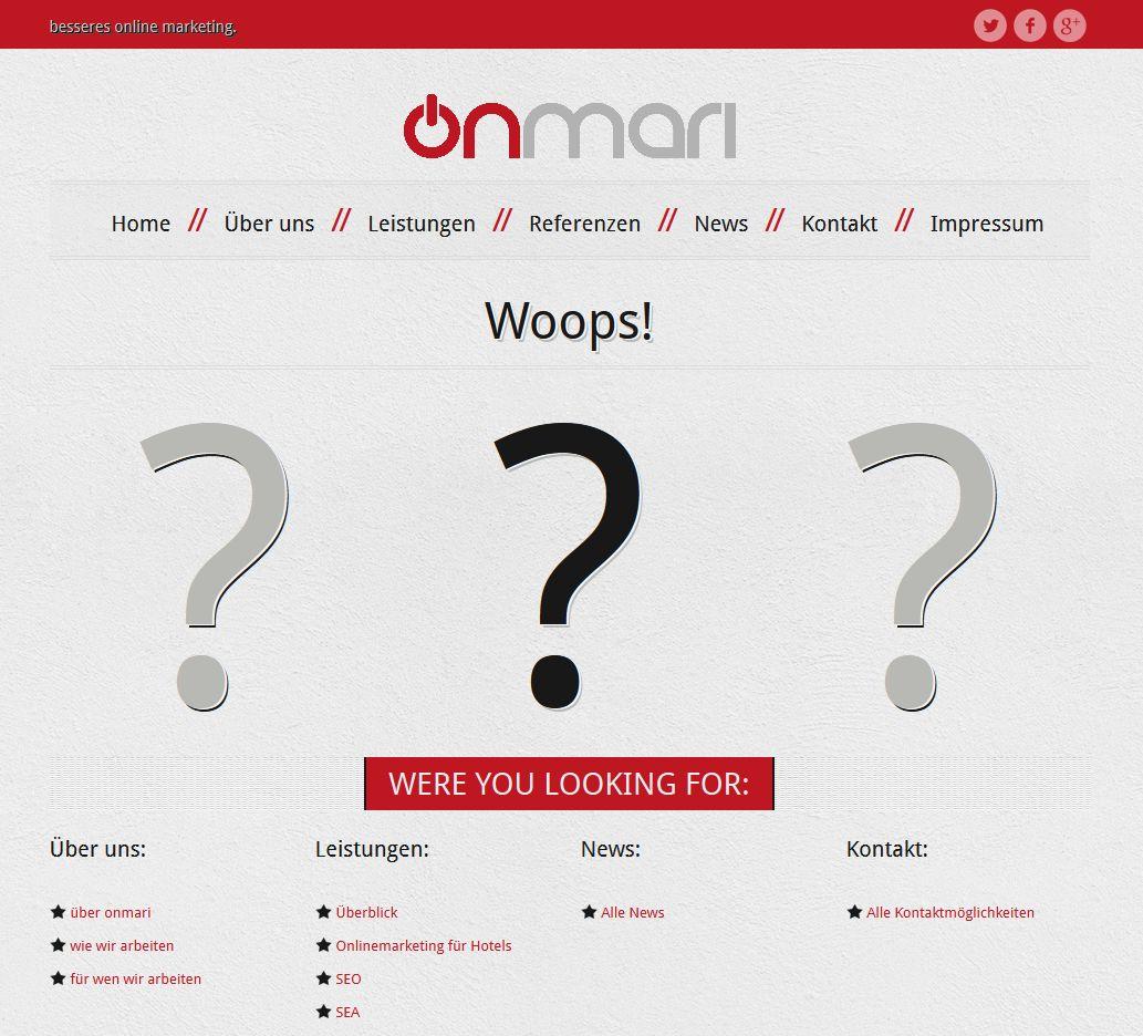 website Archive - onmari   better online marketing