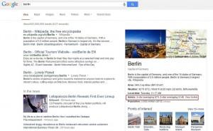 Google Hotelfinder im Knowlege Graph